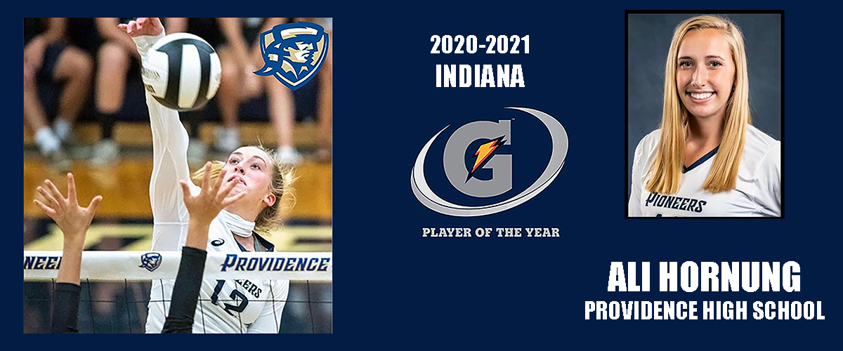 Ali Hornung Named Indiana Gatorade Player of the Year