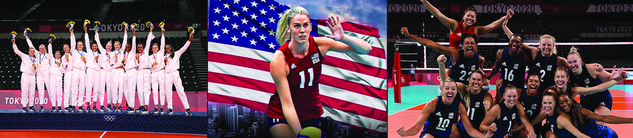 Indiana's own Annie Drews wins Team USA Volleyball 1st Olympic Gold Medal
