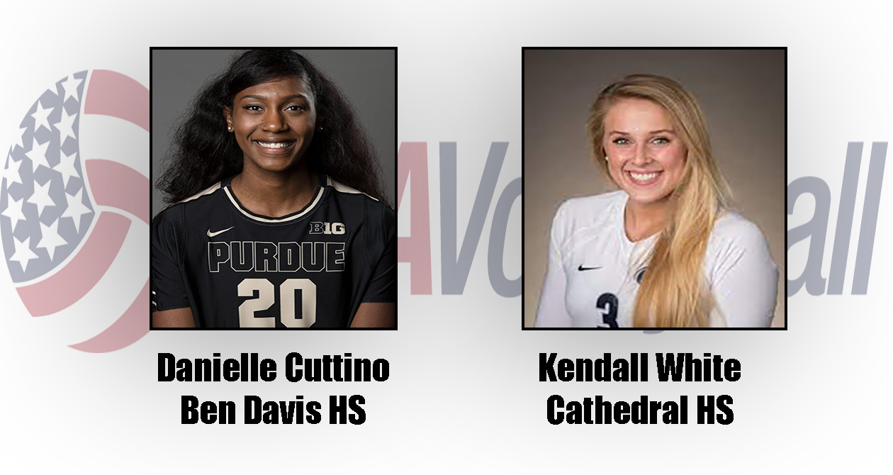 Two Hoosiers compete for USAVolleyball NORCECA Continental Championship